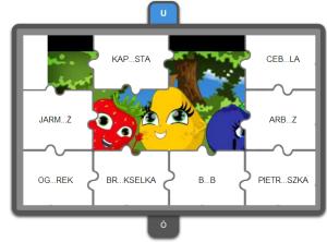 puzzle z ó i u