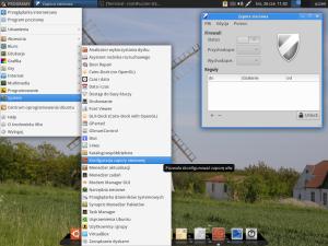 Wygląd uruchomionego Gufw w SRU_Desktop
