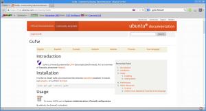 Strona projektu w serwisie Ubuntu