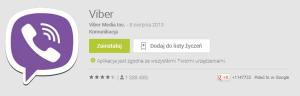 Aplikacja Viber umożliwiająca dzwonienie za darmo ze smartfonu lub tabletu wymagane jedynie połączenie z siecią WIFI