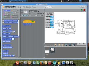 Scratch4Arduino w środowisku LINUX FREE_Desktop
