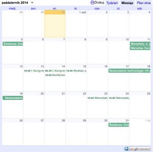 Kalendarz Superbelfra