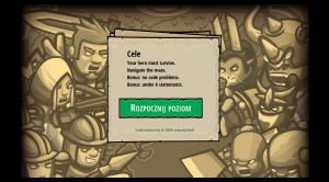 CodeCombat - Start level