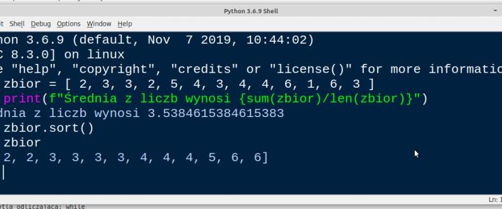 Python – nagła pomoc w gardłowej sprawie.
